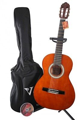 Valencia 1/2 Concert Guitar Scale length 53 cm, with case and DVD, Guitar Set