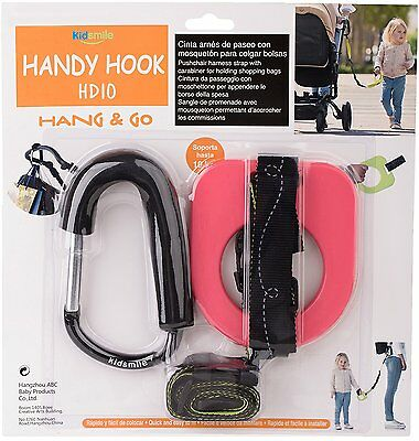 Kidsmile Anti-lost Toddlers Walking Handle Set Wrist Safety Harness Straps with