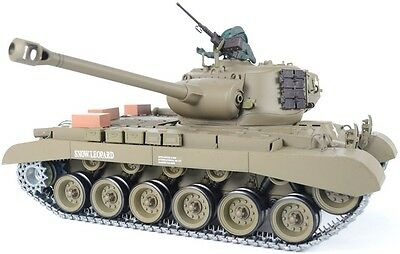Heng long 1/16 M26 Pershing Snow Leopard Firing RC Tank - Pro Version
