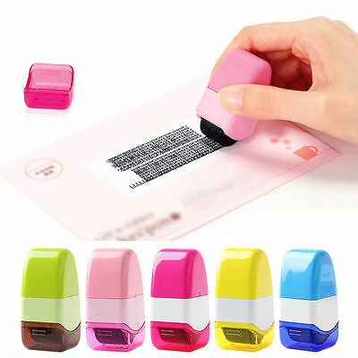 Safety Roller Stamper Identity Theft Protection Stamp Seal StockingSelf Guard ID