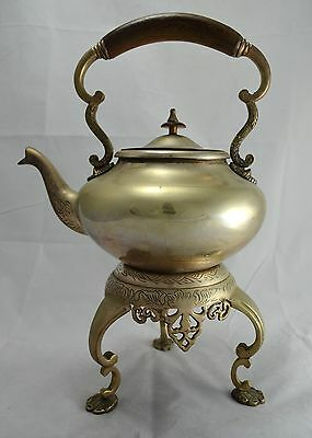 N3901 Favoloso Samovar Teiera In Argento Sheffield Collection