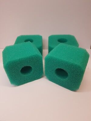 4x Reusable Hot Tub Sponge Foam Filter Fits Inflatable lay in z spa Miama Vegas