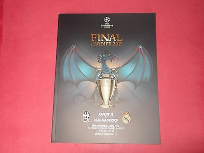 2017 Uefa Champions League Final Juventus V Real Madrid + Poster
