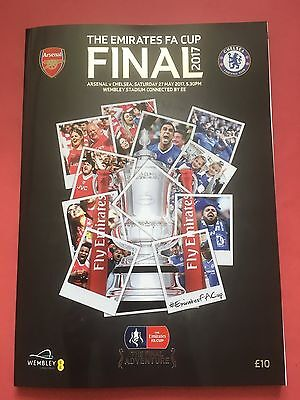 2017 Fa Cup Final Arsenal V Chelsea Official Programme