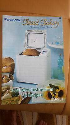 Panasonic automatic Bread Maker SD-251