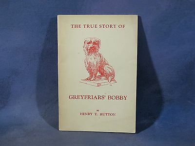 THE TRUE STORY OF GREYFRIARS' BOBBY by Henry Hutton, 1956