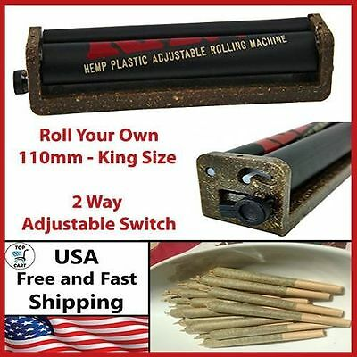 Joint Roller Machine RYO Fast Cigar Rolling Cigarette Weed Raw King Size 110mm