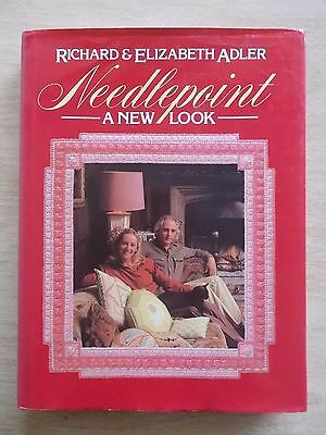 Needlepoint~A New Look~R & E Adler~Projects & Techniques~Patterns~176pp HBWC