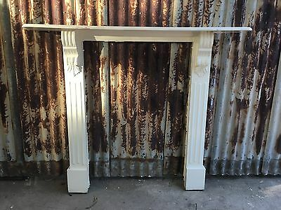 Timber Mantle Piece 1055w X 1240h Fireplace
