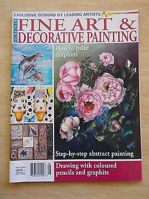 Fine Art & Decorative Painting Vol 21 #6~Dolphin~Dog~Bilbies~Leaves~Lilly Pilly