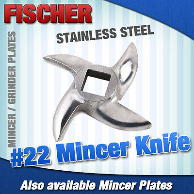 """new"" Mincer - Grinder Cutting Knife For #22 Meat Mincer, #12 Also Available"