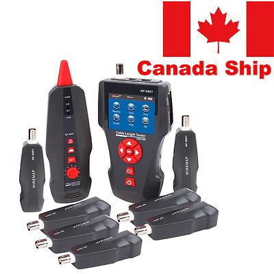 Canada Stock Noyafa NF-8601W RJ45 LAN Network Cable Tester UTP STP Wire Tracker