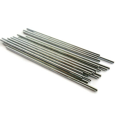 10pcs Iron Shaft Axis Dia 2.5mm Length 100mm For Motor Model Car Aircraft Gear