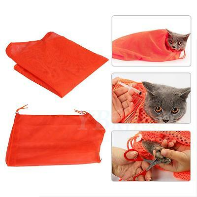 New Pet Dog Grooming Nail Bathing Restraint Bag No Bite Scratch Fit Mesh Hot