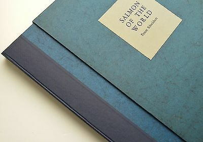 SALMON OF THE WORLD by Ernest Schwiebert Limited Special Deluxe Edition- 1970