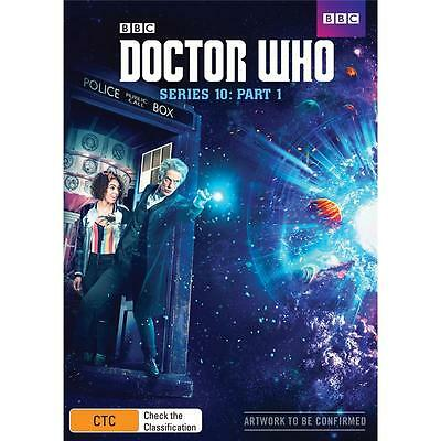 BRAND NEW Doctor Who : Series 10 Part 1 (DVD, 2017, 2-Disc Set) *PREORDER R4