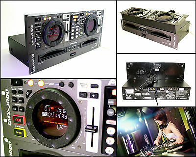 PIONEER CMX-3000 Dual CD Player with CUV-163 Controller