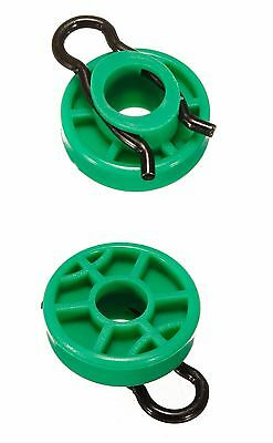 2x Saab Window Regulator Roller Front Brand New Clip NG900 9-3 9-5 1999-2010 CP1