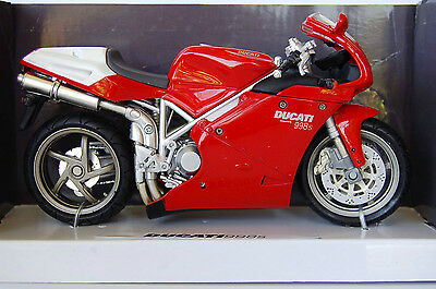 DUCATI  998S  1/12th  MODEL  MOTORCYCLE  RED