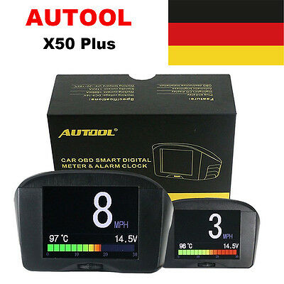 AUTOOL X50 Plus Car OBD2 Multi-function For Standard Petrol Diesel Vehicles