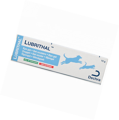 Lubrithal Eye Gel Moisturising Lubricating For Cats And Dogs.Minimise Discomfort