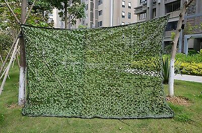 Woodland Camouflage Camo Net Netting Jungle Camping Military Cover Hunting Shoot