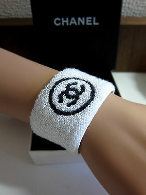 New Auth Chanel Sports Line Arm Sweat Band #jacket #bag
