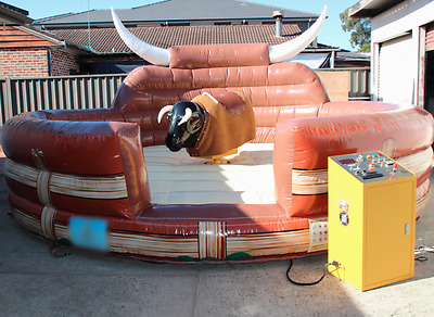 Party Hire mechanical / Bucking bull