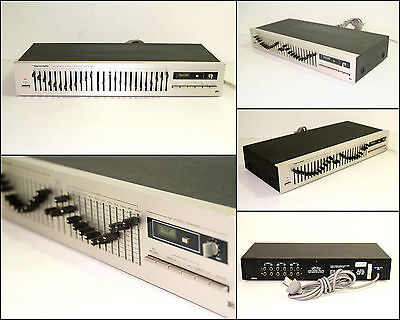 REALISTIC TANDY 31-2010 12 Band Stereo Graphic Equalizer