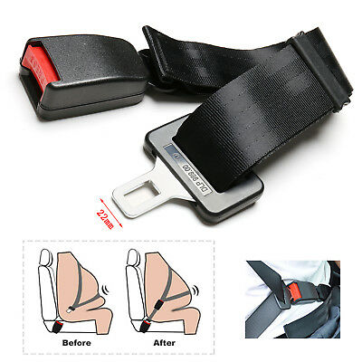 25~65cm Adjustable Car Auto Safety Seat Belt Seatbelt Extension Extender Buckle