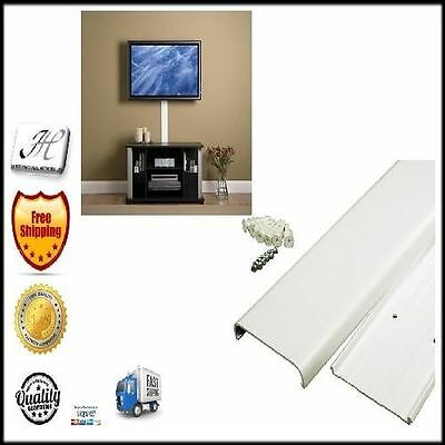 TV CORD Cover Storage Kit Wire Wall Mount Home Tool Part Hide Tunnel ...