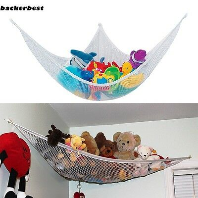Large Toy Soft Teddy Hammock Mesh Baby Childs Bedroom Tidy Storage Nursery Net R