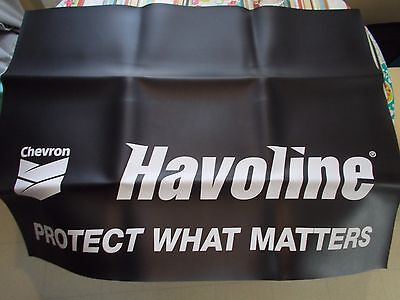 New Chevron Havoline  Motor Oil Fender  Covers  Mechanic Sign Advertizing