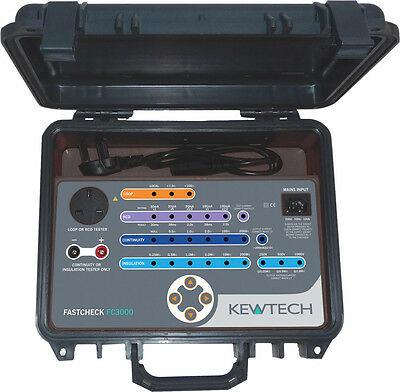 Kewtech FC3000 Calibration Check Box