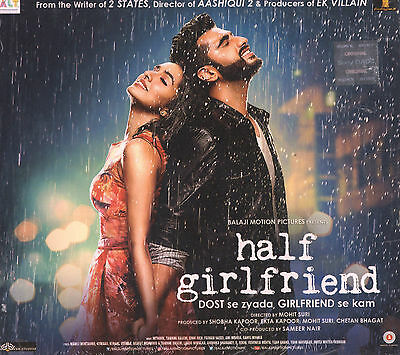 Half Girlfriend - Official Bollywood Soundtrack Cd