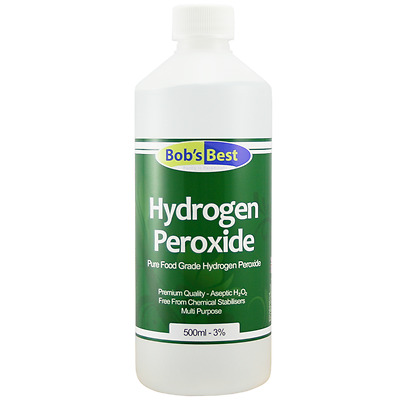 Food Grade Hydrogen Peroxide - 3% - Multi Pack Listing with Quantity Discounts