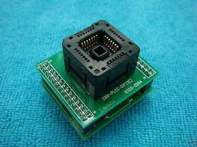 YAMAICHI PLCC28 to DIP28 IC Programmer Converter Adapter for CPLD EPLD X 1PC