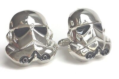 Lot of Star Wars Stormtrooper cufflinks great for wedding or event 10, 20 or 30