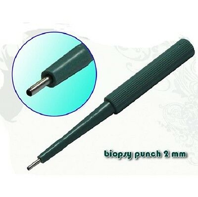 Dermal Punch 2 mm uso profesional  Piercing  Envio 24/48 horas