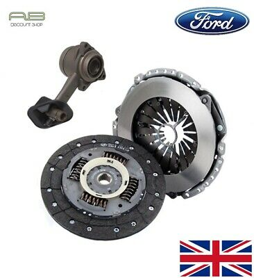 Clutch Kit Fit Ford Transit Mk6 2.0 Di Fwd With Csc Slave Cylinder 04/2002-2006