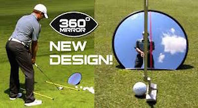 paraeyeline golf 360 grados espejo completos swing y putting
