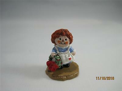 Wee Forest Folk Raggedy Limited Edition Special 1994 - HTF in WFF Box