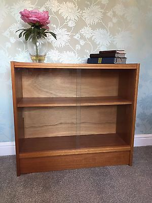 G PLAN Retro Glass Fronted Bookcase (1960's)