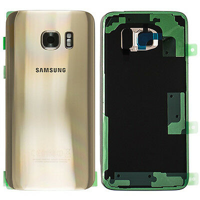 Original Samsung Galaxy S7 Edge G935F Akkudeckel Akku Deckel Backcover Back Gold