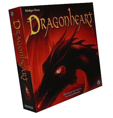 DRAGONHEART-DETERMINE THE FATE OF THE GREAT DRAGON-BOARD GAME-Box-engl.-new