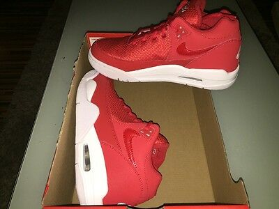 Nike FLIGHT SQUAD UK SIZE 5.5 EURO 38.5 REAL NICE IN Red SIMILAR TO JORDANS