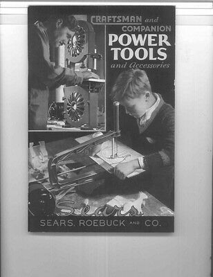 1933 Craftsman 1933  and Companion Power Tools and Accessories Instructions
