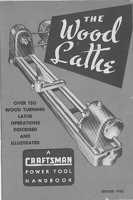 1952 Craftsman 1952  Wood Lathe (9-2920) Instructions