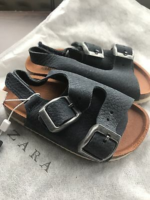 ZARA Baby Shoes Brand New Sandals Leather