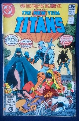 New Teen Titans #2 ( VERY FINE CONDITION) FIRST APPEARANCE OF DEATHSTROKE